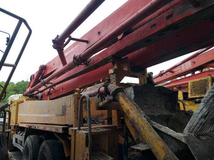 Folding Boom Second Hand Pump Truck 42m 2008 Years With Good Condition